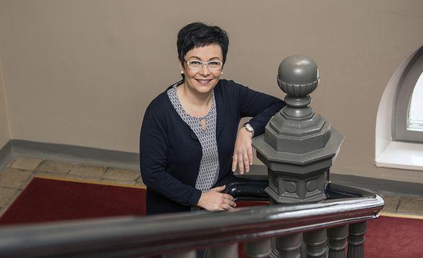 Riikka Moilanen toimi kansanedustajana vuosina 2003-2007.