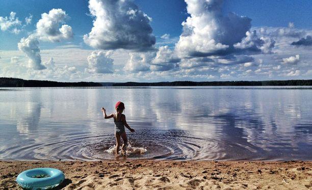 Varpaisjärven uimamaisteri.