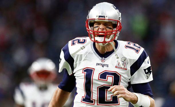 Tom Brady on pelannut samassa joukkueessa vuodesta 2000.