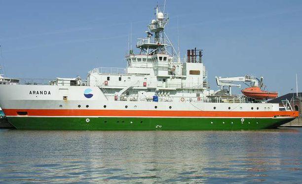 Aranda kohtasi venäläisen sukellusveneen tiistaina kansainvälisillä vesillä.