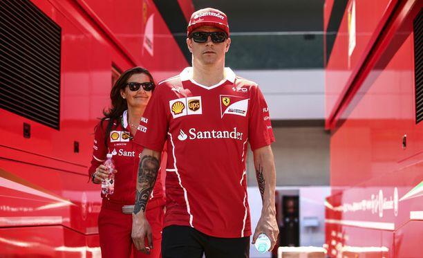 Kimi Räikkönen voivotteli vielä Azerbaidzhanissa menetettyä pistesaalista.