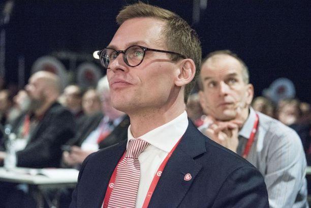 Antton Rönnholm valittiin hiljattain SDP:n uudeksi puoluesihteeriksi.