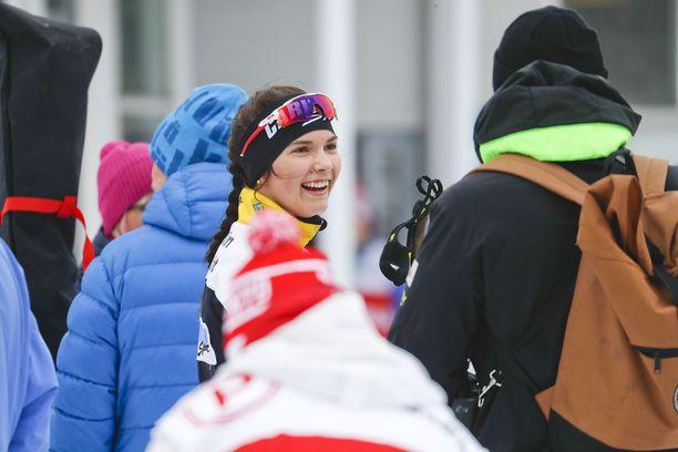 Jasmin Kähärä rohmusi viime talvena kolme SM-kultaa.