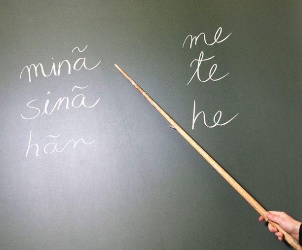 Moni haluaa opettajaksi Ouluun.