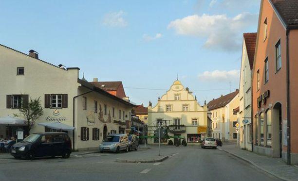 Silmitön väkivallanteko tapahtui varhain aamulla Grafingin kaupungissa.