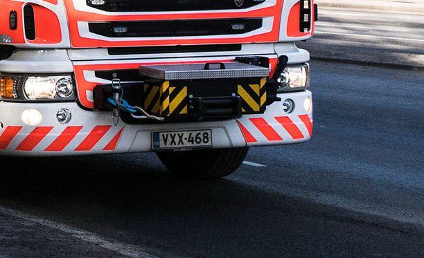 Mies menehtyi liikenneonnettomuudessa Lappeenrannassa. Kuvituskuva.
