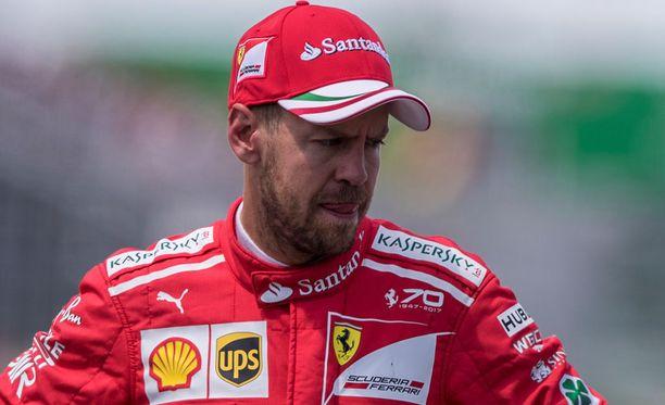 Sebastian Vettelin toilailu puhutti kisan jälkeen.