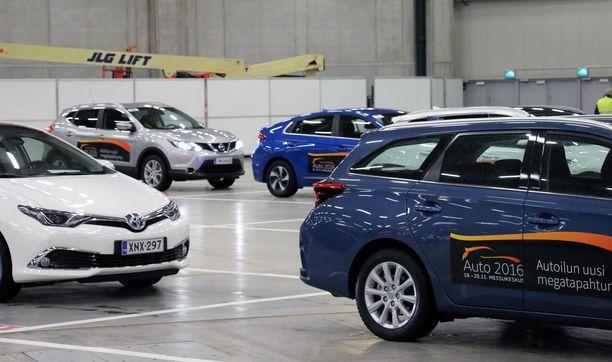 Uusien autojen koeajomahdollisuutta tarjottiin edellisen kerran Auto 2016 -tapahtumassa.