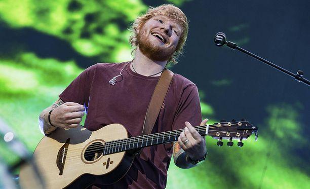 Ed Sheeran esiintyy ensimmäistä kertaa Suomessa.