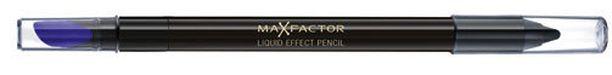 Max Factorin Liquid Effect Eyeliner -kynä on vähän kuin eyelinerin ja kajaalin välimalli, 10,90 euroa.