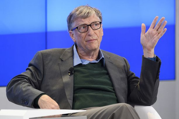 Bill Gates on maailman toiseksi rikkain.