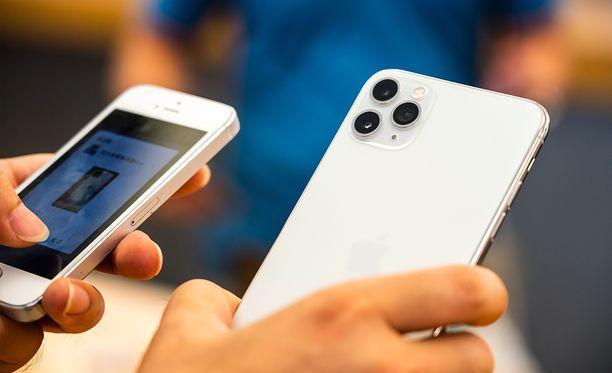 Voittajaksi nousi tuore Iphone 11 Pro Max.