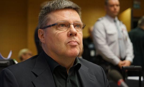 Jari Aarniolle vaaditaan vähintään neljän vuoden vankeusrangaistusta.