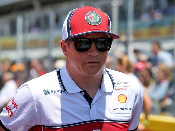 Kimi Räikkönen ei ymmärrä tuomariston päätöstä Kanadan GP:n Vettel–Hamilton-tapauksessa.
