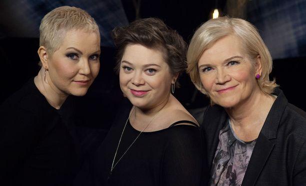 Astrid Swanin lisäksi Anne Flinkkilän (oik.) vieraana on Stina Koistinen, joka on myös parantumattomasti sairas.