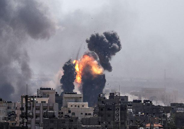 Gazan kaista on Israelin ja Egyptin rajalla sijaitseva alue, joka on ollut sekä Egyptin että Israelin hallinnassa. Nyt sitä hallitsee Hamas.