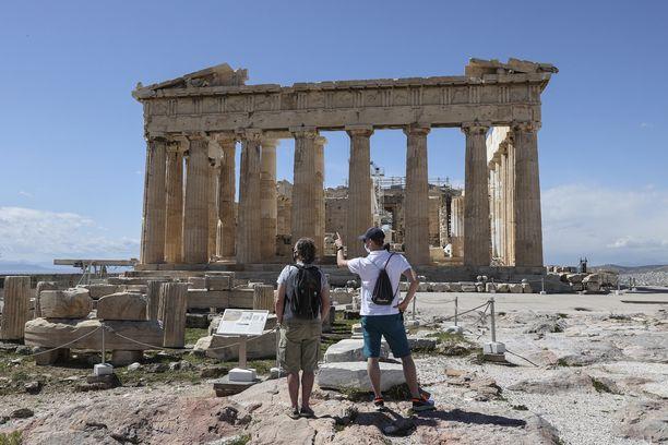 Ateenassa sattunut väkivaltainen murto on järkyttänyt. Kuvituskuva.