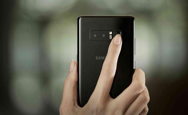 Samsung kehittää uusia biometrisen tunnistautumisen tapoja.