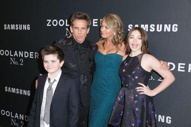 Koko Stillereiden perhe syyskuussa 2016.