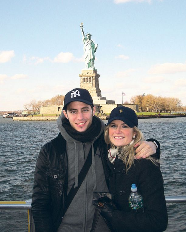 Anu ja Augustin kävivät syksyllä viikon lomalla New Yorkissa.