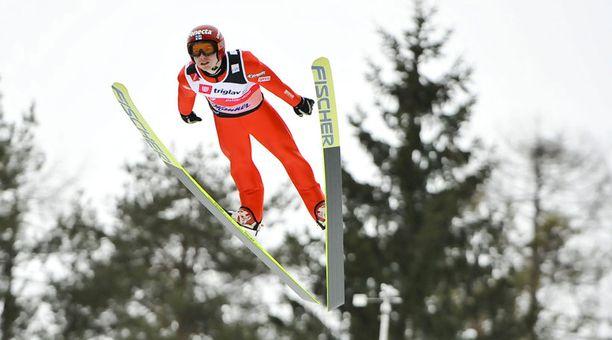 Harri Olli on urallaan voittanut kolme maailmancupin kilpailua.