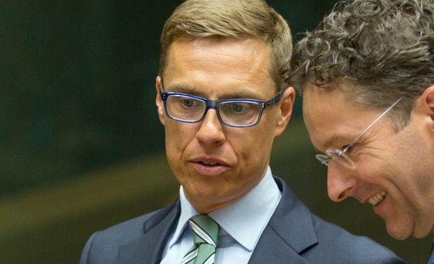 Valtiovarainministeri Alexander Stubbin mukaan Suomen kanta vaihtuu koko ajan.