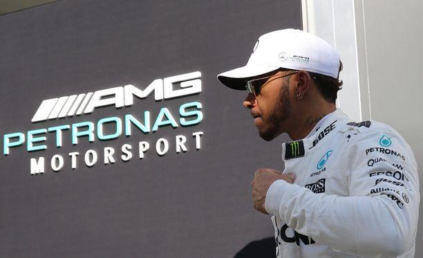 Lewis Hamilton veti kaikki Instagram-julkaisunsa pois näkyvistä.