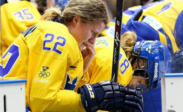 Emma Eliasson kuuluu Ruotsin maajoukkueen vakiokalustoon.