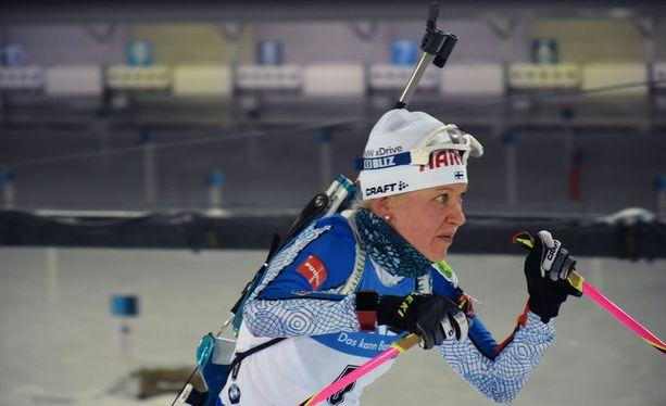 Kaisa Mäkäräinen ei ehdi tänä vuonna Linnan juhliin. Hän on jättänyt tapahtuman väliin myös vuosina 2015 ja 2016.