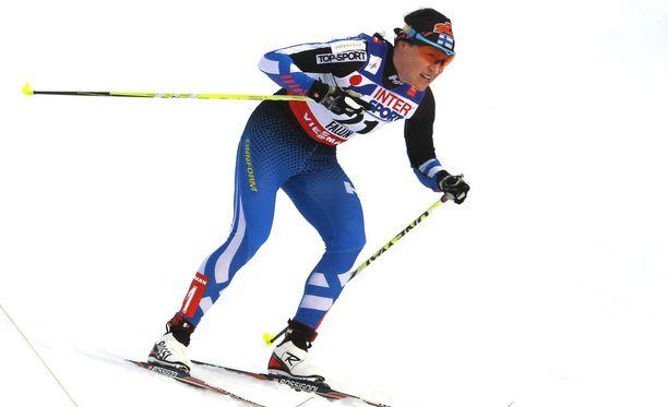 Aino-Kaisa Saarinen päätti sprinttikautensa sijaan 11.
