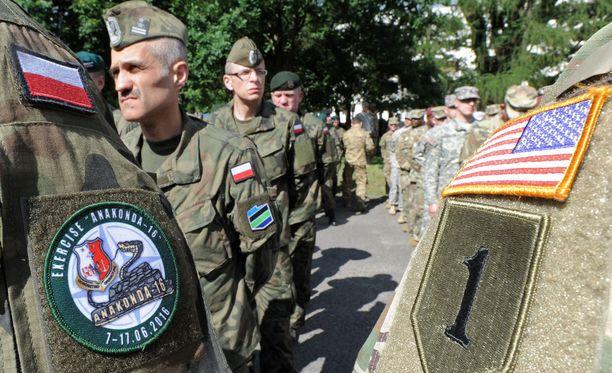 Ruotsi ja Yhdysvallat aikovat tiivistää yhteistyötään. Jo nyt Ruotsi osallistuu Suomen tavoin moniin yhteisharjoituksiin Nato-maiden kanssa.
