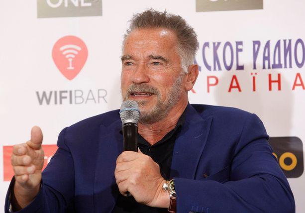 Schwarzeneggerin muuttunut ulkonäkö herätti ihmetystä.