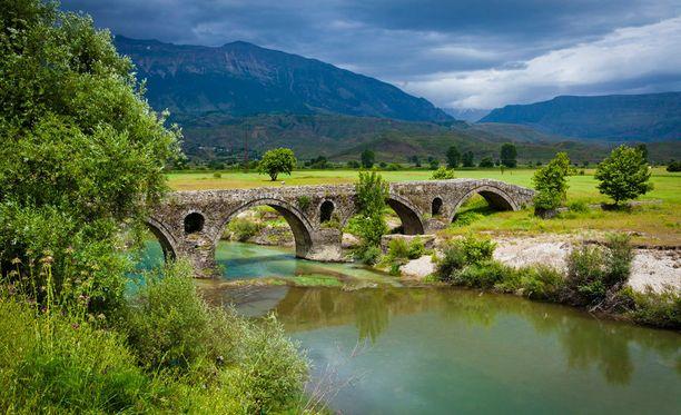 Albanian kauniita maisemia.