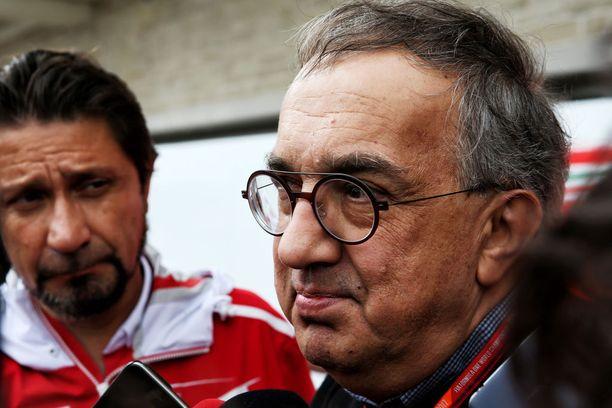 Ferrari-pomo Sergio Marchionne on tunnettu varsin kärsimättömänä johtajana.