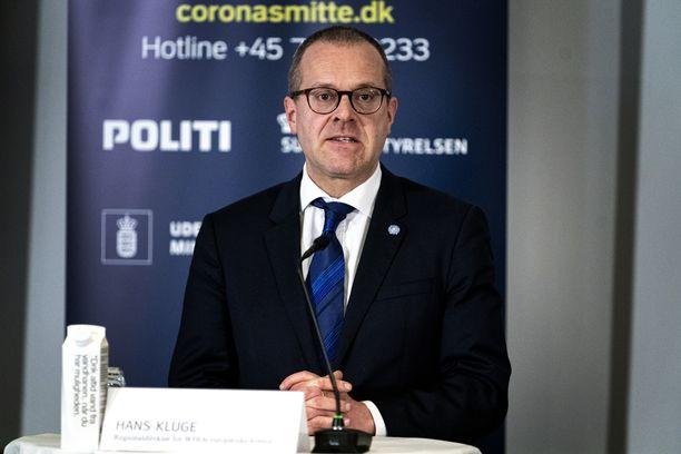 WHO:n Euroopan aluejohtaja Hans Kluge.
