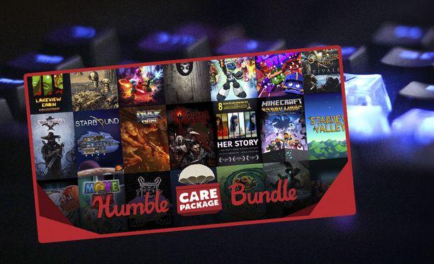 Humble Care Package Bundle sisältää 27 peliä.