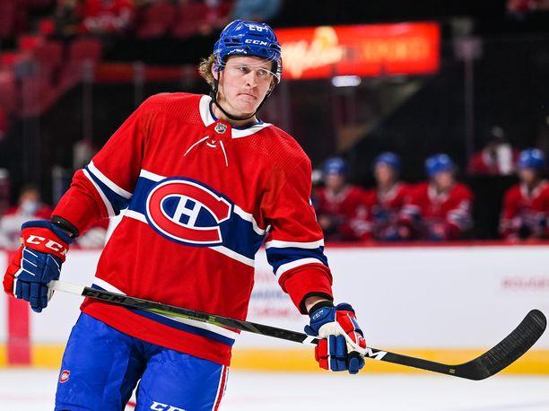 Christian Dvorak rohmusi neljä tehopistettä Montreal-debyytissään.