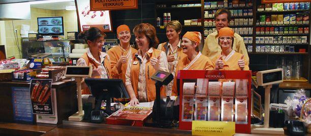 Kuuden miljoonan euron voittorivi osui Kauhajoen ABC Liikennemyymälän myyntipaikan tekemälle viiden osuuden porukkapelille.