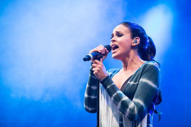 Sara Forsberg kesällä 2015.