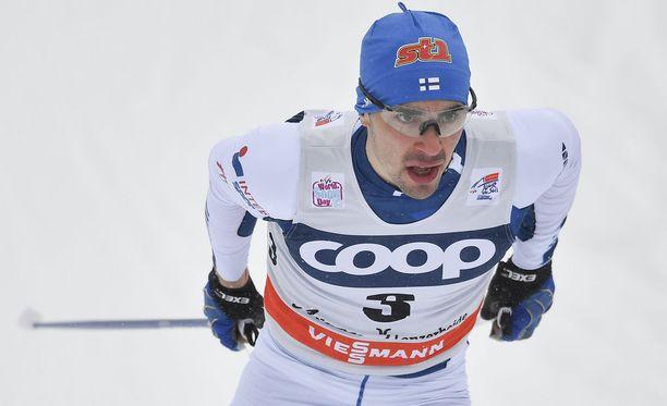 Ristomatti Hakola on Suomen miesten ykköstykki sprintissä.