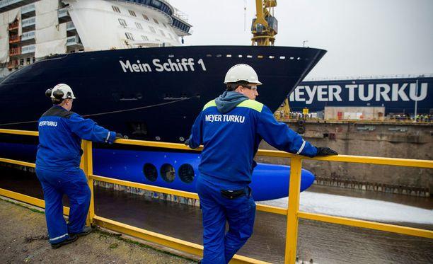 Meyer Turku on rekrytoinut huomattavasti uusia työntekijöitä.
