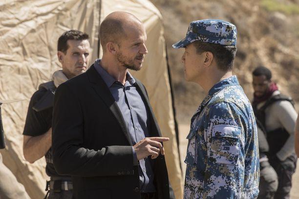 Muun muassa tältä näyttää Gustafin roolisuoritus Westworldissa.