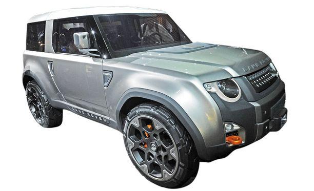 Onko tässä Defenderin tulevaisuus - sitä haetaan Land Rover DC100 -konseptimallilla.