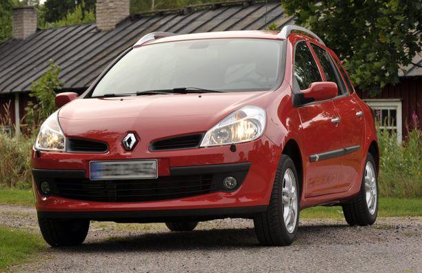 Edellisen sukupolven Renault Clio kärsi etuakseliston vioista.