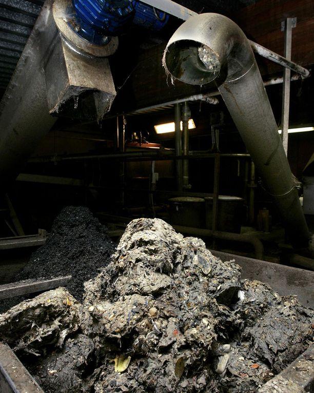 Kuva on Ulvilan jätevesipuhdistamolta.
