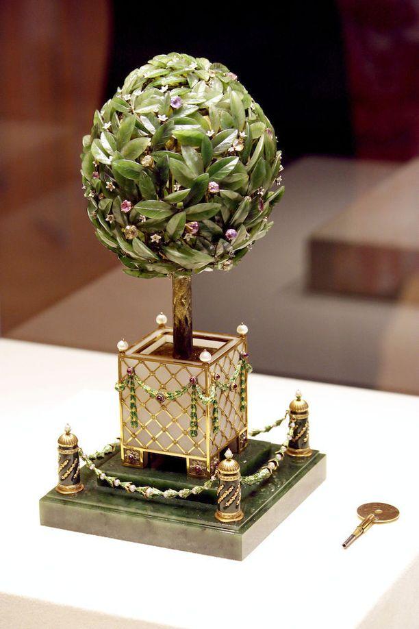 Fabergé on erityisen tunnettu munistaan. Ei ole tiedossa mitä kaikkea Hackzell salakuljetti Venäjältä.