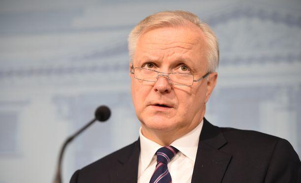 Olli Rehn aloittaa Suomen Pankin johtokunnan jäsenenä helmikuussa 2017.