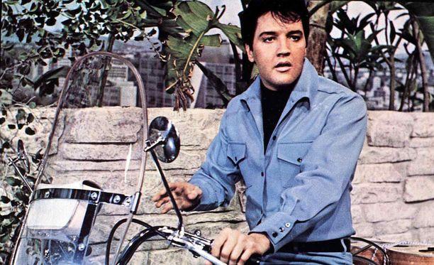 """""""The King"""" - Elvis Presley kuvattuna vuonna 1967."""