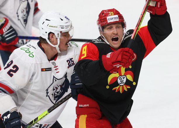 Jokerit kohtasi 9. syyskuuta Helsingissä Neftehimik Nizhnekamskin.