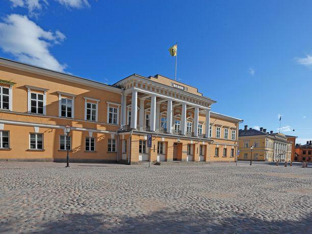 Åbo Akademi on Turussa toimiva ruotsinkielinen yliopisto. Kuvassa päärakennus.